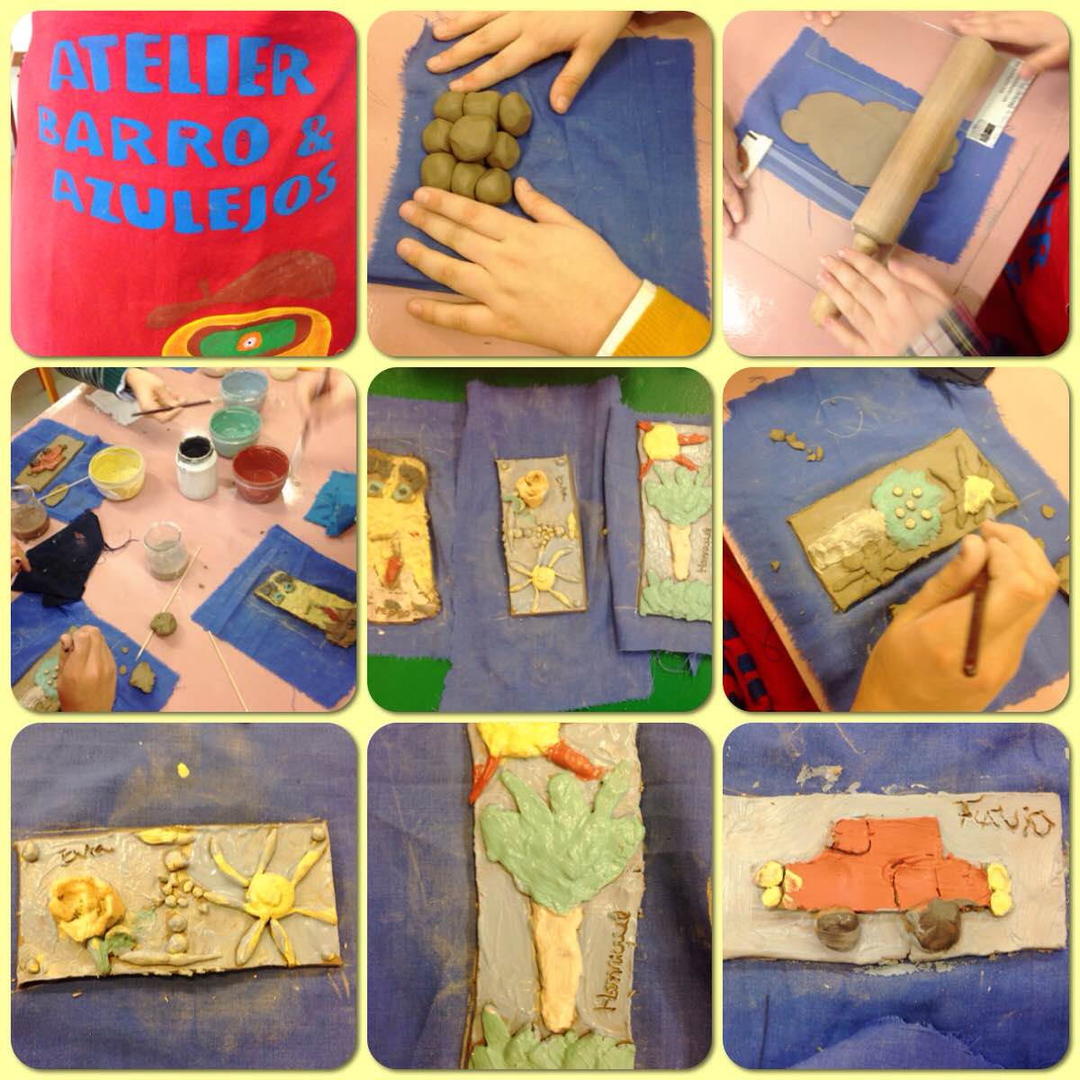 Mini Clube Kids - Atelier de Barro